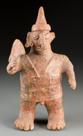 Pre-Columbian:Ceramics, A Nayarit Standing Male Figure...