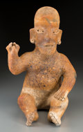 Pre-Columbian:Ceramics, An Ameca Jalisco Seated Figure...