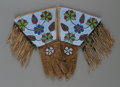 American Indian Art:Beadwork and Quillwork, A Pair of Plateau Beaded Hide Gauntlets. ... (Total: 2 Items)