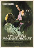 "Movie Posters:Foreign, The Sins of Madame Bovary (Interfilm, 1969). Italian 4 - Fogli (55.25"" X 77""). Foreign. Alternate Titles: Play the Game of..."