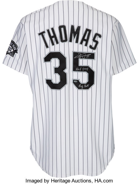 55f5d3e276e 1998 Frank Thomas Game Worn Chicago White Sox Jersey with
