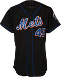 Baseball Collectibles:Uniforms, 2006 Pedro Martinez Signed Game Worn New York Mets Jersey, MEARSAuthentic....