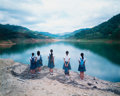 Photographs, Weng Fen (Weng Peijun) (b. 1961). Staring at the Lake No. 1, 2004. Dye coupler. 49-1/2 x 61-1/2 inches (125.7 x 156.2 cm...