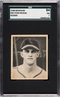 Baseball Cards:Singles (1940-1949), 1948 Bowman Stan Musial #36 SGC 84 NM 7....