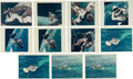"Explorers:Space Exploration, Gemini 4: Group of Eleven Original NASA ""Red Number"" Color Photos (Eight Different). ..."