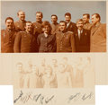 Autographs:Celebrities, Soviet Cosmonauts Vintage Color Photo Signed by the First Eleven toFly in Space. ...