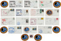 Autographs:Celebrities, Apollo 14: Collection of Fourteen Signed Covers, Individual, Group, and Crew....