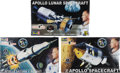 "Explorers:Space Exploration, Buzz Aldrin Revell ""Rocket Hero"" Apollo 11 Models (ThreeDifferent), New in Boxes, Originally from His Personal Collection.... (Total: 3 Items)"