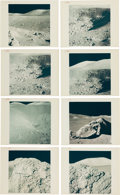 """Explorers:Space Exploration, Apollo 17: Group of Sixteen Original NASA """"Red Number"""" LunarGeological Formations Color Photos, from Magazines 137, 140, and..."""