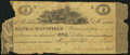 Obsoletes By State:Ohio, Mansfield, OH- Richland & Huron Bank of Mansfield $1 Dec. 19,1816. ...
