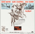 "Movie Posters:Western, True Grit (Paramount, 1969). Six Sheet (77"" X 80""). Western.. ..."
