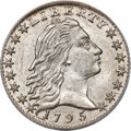 Early Half Dimes, 1795 H10C V-4, LM-10, R.3, MS63 ANACS....
