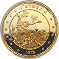 "Modern Bullion Coins, (2010) ""1876"" $100 Gold Union Ultra Cameo Gem Proof NGC. ..."