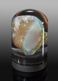 Minerals:Small Cabinet, Opal. Virgin Valley. Humboldt County. Nevada, USA. ...