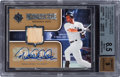 Baseball Cards:Singles (1970-Now), 2007 Upper Deck Ultimate Collection Derek Jeter Ultimate StarMaterials Autograph BGS NM-MT+ 8.5, 9 Autograph - Numbered 15 ou...