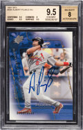 Baseball Cards:Singles (1970-Now), 2001 SPX Albert Pujols #206 Rookie Autograph BGS Gem Mint 9.5 - Numbered out of 1500....
