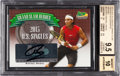 Olympic Cards:General, 2013 Ace Authentic Grand Slam Rafael Nadal Heroes Autographs BrownNumbered 5 out of 15 BGS Gem Mint 9.5 - 10 Autograph. ...
