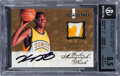 Basketball Cards:Singles (1980-Now), 2007-08 Fleer Hot Prospects Kevin Durant Rookie Patch Autograph #123 BGS NM-MT+ 8.5 - 10 Autograph. ...