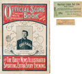 Baseball Collectibles:Others, 1906 Chicago White Sox Ephemera Lot of 3.... (Total: 3 item)