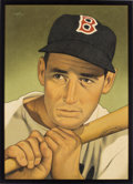 Baseball Collectibles:Others, 2017 Ted Williams Original Artwork by Arthur Miller. ...
