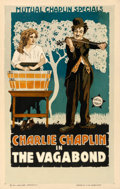 "Movie Posters:Comedy, The Vagabond (Mutual, 1916). Window Card (14"" X 22"").. ..."