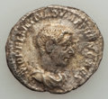 Ancients:Ancient Lots , Ancients: GROUP LOTS. Roman Imperial. Lot of three (3) Macrinus andDiadumenian, AR denarii. VF-About XF.... (Total: 3 coins)