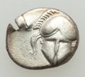 Ancients:Ancient Lots , Ancients: GROUP LOTS. Greek. Lot of two (2) fractions.Fine-VF.... (Total: 2 coins)