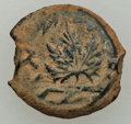 Ancients:Judaea, Ancients: JUDAEA. The Jewish War (AD 66-70). AE prutah (2.79 gm). VF....