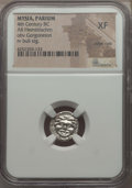 Ancients:Greek, Ancients: MYSIA. Parium. Ca. 4th century BC. ARhemidrachm. NGC XF, edge cuts....