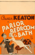 "Movie Posters:Comedy, Parlor, Bedroom and Bath (MGM, 1931). Window Card (14"" X 22"") AlHirschfeld Artwork.. ..."
