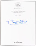 Autographs:Celebrities, Buzz Aldrin Signed Leather-Bound Collector's Edition Book: NASA,The Complete Illustrated History, Originally from...