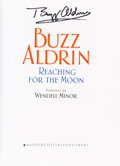 Autographs:Celebrities, Buzz Aldrin Signed Book: Reaching For The Moon, Originallyfrom His Personal Collection. ...