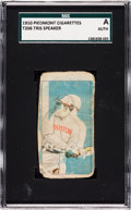 Baseball Cards:Singles (Pre-1930), 1909-11 T206 Tris Speaker SGC Authentic. ...