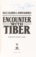 Autographs:Celebrities, Buzz Aldrin Signed Book: Encounter with Tiber, Originallyfrom His Personal Collection. ...