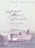 Explorers:Space Exploration, Mercury Seven Astronauts Signed Book (By All): We Seven byThe Astronauts Themselves. ...