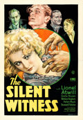 "Movie Posters:Mystery, Silent Witness (Fox, 1932). One Sheet (27"" X 41"").. ..."