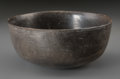 Pre-Columbian:Ceramics, A Chimu Blackware Bowl...