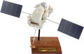 Explorers:Space Exploration, NASA-TRW Gamma Ray Observatory Contractor's Model on Base. ...