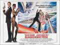 "Movie Posters:James Bond, A View to a Kill (CIC, 1985). French Eight Panel (117"" X 155"").James Bond.. ..."