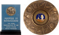 Explorers:Space Exploration, Apollo 11 NASA Employee Awards: Manned Flight Awareness Medal andAshtray. ... (Total: 2 Items)