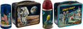 Explorers:Space Exploration, Space-Themed Vintage Lunchbox and Thermos Collection (Two Each)....