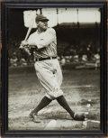 Baseball Collectibles:Photos, 1927-30 Babe Ruth Signed Photograph to Eddie Collins....