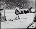 Hockey Collectibles:Photos, Bobby Orr Signed Oversized Photograph. ...