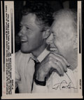 Autographs:Others, Jimmy Carter Signed Photograph. ...