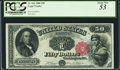 Large Size:Legal Tender Notes, Fr. 164 $50 1880 Legal Tender PCGS About New 53.. ...