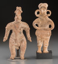 Pre-Columbian:Ceramics, Two Colima Figures... (Total: 2 Items)