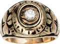 Basketball Collectibles:Others, 1957 Boston Celtics NBA Championship Ring Presented to LouTsioropoulos....