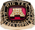 Basketball Collectibles:Others, 1997 Minnesota Golden Gophers Big Ten Championship Ring Presented to Clem Haskins. ...