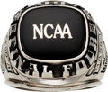 Basketball Collectibles:Others, 1997 Minnesota Golden Gophers Final Four Ring Presented to ClemHaskins....