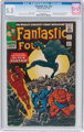 Fantastic Four #52 (Marvel, 1966) CGC FN- 5.5 Off-white to white pages